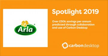 Arla spotlight over £50k per annum savings predicted
